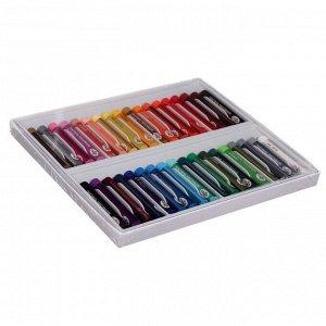 """Пастель масляная, набор 36 цветов, Гамма """"Студия"""", d-8мм, l-65мм, в картонной коробке"""