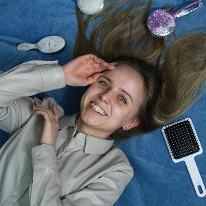 Расчёска «Мрамор» 17 х 5,5 см