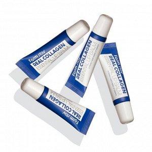 Farm Stay Real Collagen Essential Lip Balm Бальзам для губ с гиалуроновой кислотой 10 мл.