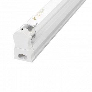 Светильник ультрафиолетовый бактерицидный, 20 Вт, с лампой в комплекте, до 40 м2