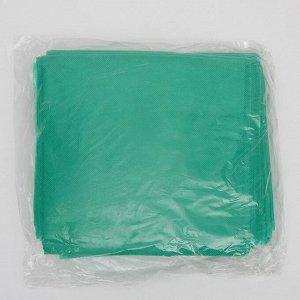 Простыня Спанбонд 30 г/кв.м Зеленый 200х90 10 шт/уп