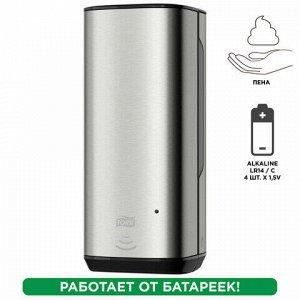 Диспенсер для жидкого мыла-пены СЕНСОРНЫЙ TORK (Система S4) Image Design, 1 л, металлический, 460009