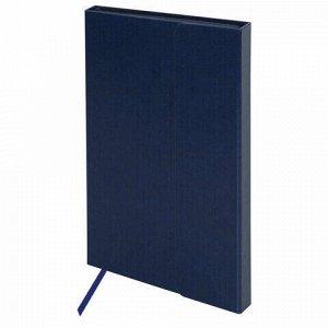 """Ежедневник недатированный А5 (148х218 мм) GALANT """"Magnetic"""", кожзам, магнитный клапан, 160 л., синий, 111879"""