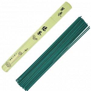 BCN004-01 Ароматические палочки 22,5см Зелёный чай