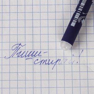 """Ручка стираемая гелевая BRUNO VISCONTI, """"Музыка"""", СИНЯЯ, корпус ассорти, узел 0,5 мм, линия письма 0,4 мм, 20-0231"""