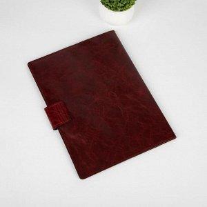 Папка для семейных документов на клапане, 1 комплект, цвет коричневый