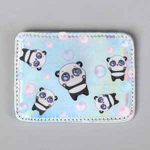 Картхолдер Panda world, 10 х 7,5 см