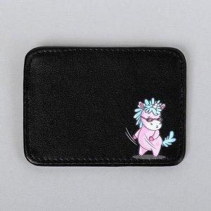 Картхолдер Unicorn style, 10 х 7,5 см
