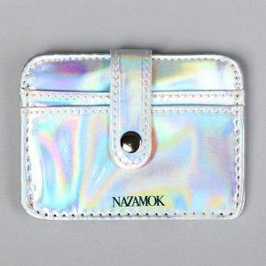 Картхолдер Lucky wallet с зажимом, 10 х 7,5 см