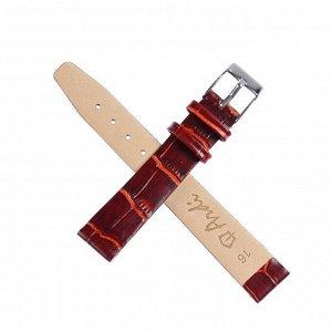 Ремешок для часов, натуральная кожа, 16 мм
