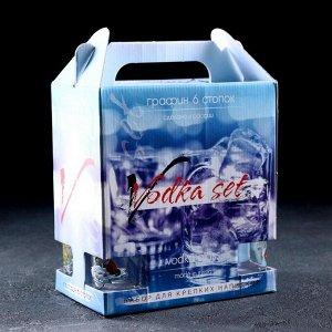 Набор питьевой «По приколу», 7 предметов: графин 500 мл, стопка 50 мл 6 шт
