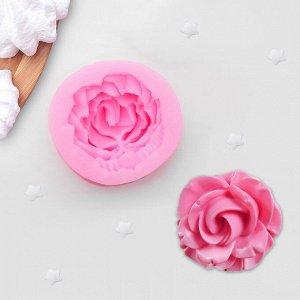 Молд силиконовый «Роза», 4,5?2 см