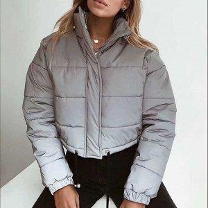 Укороченная светоотражающая куртка