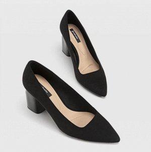 Туфли женские, цвет чёрный