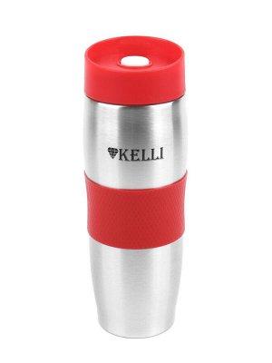 KL-0942 термокружка 0,4л красный