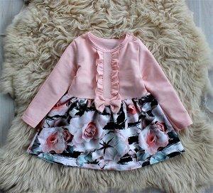 ПЛ77-Ф Платье детское «Клэр»