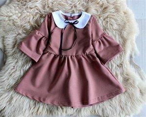 Платье детское «Диана» ПУДРА