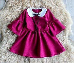 Платье детское «Диана» СИРЕНЬ