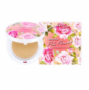 Pink Flower Blooming Uv Pact Spf50 Pa+++   #21 Beige