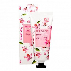 Pink Flower Blooming Hand Cream Cherry Blossom
