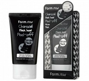 Charcoal Black Head Peel-Off Nose Pack Маска-плёнка для очищения кожи носа от чёрных точек