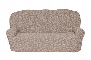 Чехол для мебели Ileen Цвет Серо-Бежевый (Трехместный)