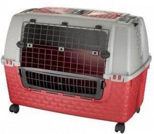 BAMA PET переноска в машину KENNEL TOUR EASY 88х52х60h см, красная