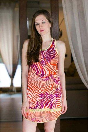 Платье Barnabas Цвет Оранжевый.
