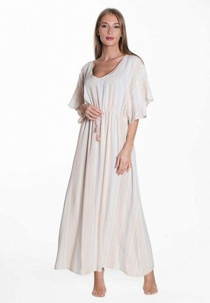 Платье Florence Цвет Бежевый.