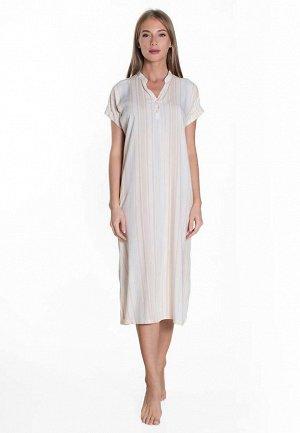 Платье Lisbeth Цвет Бежевый.