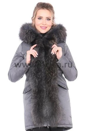 Куртка Liza Bruce 8708_Р (Стальной)