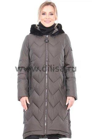 Пальто+снуд Lusskiri 18138_Р (Хаки 14)