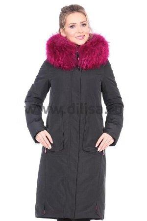 Пальто Mishele 18084_Р (Черный XZC24)