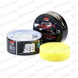 Полироль кузова Soft 99 The King Of Gloss, для тёмных автомобилей, защитный, водоотталкивающий, банка 300г, (+губка), арт. 00177