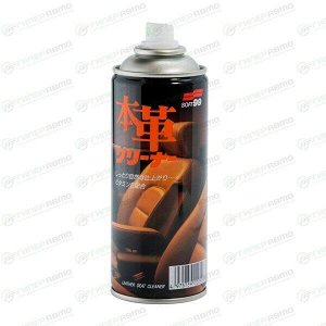 Очиститель салона Soft 99 Leather Seat Cleaner, для кожи, без запаха, пенный, аэрозоль 300мл, арт. 02052
