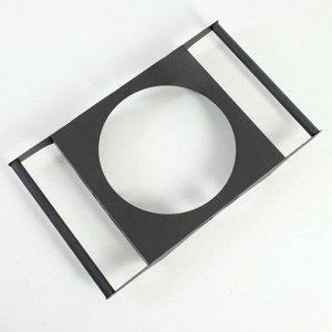 """Подставка под казан """"Лотос"""" для мангала, диаметр кольца 36 см, 72 х 43 х 9 см"""