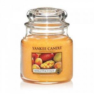 Аромасвеча Соус из манго и персика 411г
