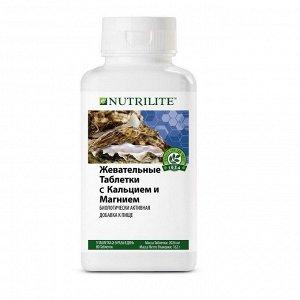 NUTRILITE™ Жевательные таблетки с кальцием и магнием, 80 таб