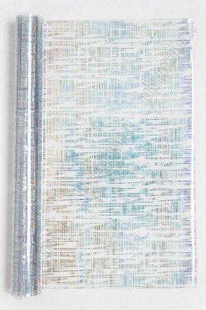 Пленка декоративная 20*30 см SF-3219, серебро