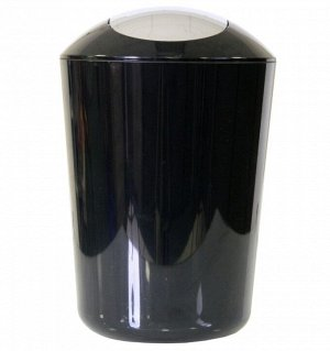 AXENTIA Ведро для мусора 5л, цв.черный 251081