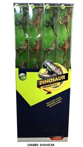 Набор фигурок динозавров 6 шт., в пласт. кор.