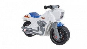 Мотоцикл (толокар) Мотобайк цв. белый 82*38*55 см