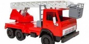 Автомобиль Пожарный Х1, 22,5*10,5*12,5 см
