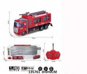 Машина пожарная р/у , кор. 33,2*10,4*12,6 см