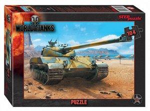 Пазлы 104 World of Tanks