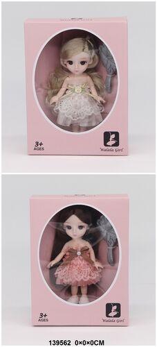 Кукла с подвижными суставами, в ассорт., кор.