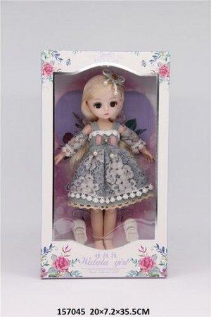 Кукла с подвижными суставами, кор.20*7,2*35,5 см