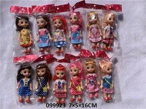 Куколка в ассорт, кор.7*5*16 см