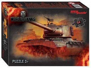 Пазлы 54  World of Tanks