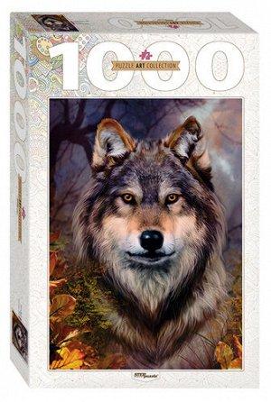 Пазлы 1000 Бенте Шлик.Волк